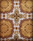 Vintage Arraiolos Rug Handmade Handwoven Carpet Portugal Portuguese Vila Vicosa