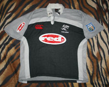 Sharks Rugby Union Shirt Jersey Canterbury CCC South Africa XL vintage rare red
