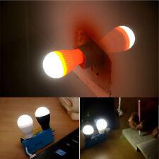 Emergency Desk Mini Book Reading Bulb Lamp LED Night Light USB Laptop PC Light