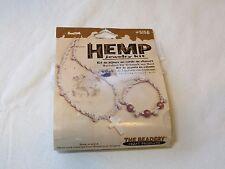 Hemp Jewelry Kit cross #5156 NOS The Beadery craft products necklace bracelet