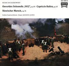 DECCA SXL-2001 TCHAIKOVSKY 1812 Overture Capriccio Italien Marche Slave ALWYN
