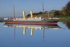 UNION STEAM SHIP CO SS SCOT RARE 1/600 HUGE BASSETT LOWKE WATERLINE MODEL SHIP