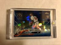 2019 Topps Transcendent VIP Exclusive 2018 Ronald Acuna Auto Topps Chrome 4/4
