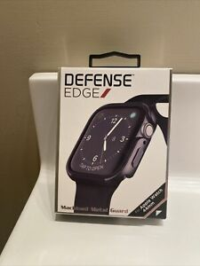 X-Doria Defense Edge Apple Watch Case 44mm Series 4 & 5 ALUMINUM Charcoal NEW!