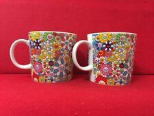 NEW Takashi Murakami flowers mug 2 cup set F/S From Japan