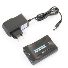 Min SCART to MHL /HDMI Video Scaler for Smartphone Samsung Sony LG to CRT TV DVD