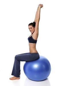 Exercise Ball Fitness Yoga Pilates Ball Sophy Sports 65 Cm Ball Holds up 600 lb