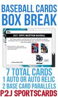 2021 Topps Inception BASEBALL Cards Hobby BOX BREAK⚾️1 MLB Team⚾️Break 4825