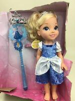 Disney Princess Share With Me Princess Cinderella Doll Tiara and Royal Wand New