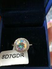 Charmed Aroma Aurora Borealis ring. size 7. bnwt
