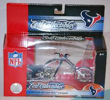 2006 ERTL NFL Houston Texans OCC Die-cast Chopper Motorcycle