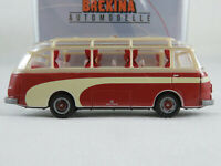 Brekina 56021 Kässbohrer Setra S 6 (1955-1964) in beige/rot 1:87/H0 NEU/OVP