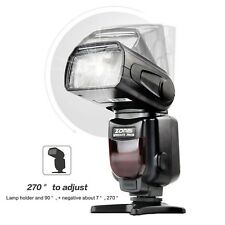 Zomei ZM430 Manual Speedlite Flashlight Lamp GN56 for Hot Shoe DSLR Camera