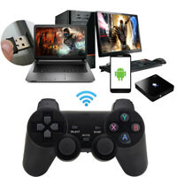 Wireless Game Controller Gamepad for PS3 Android Phone PC Controller w/ Stand