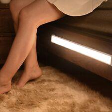 Беспроводной светодиодный PIR датчик движения свет Usb перезаряжаемый лента шкаф шкаф лампа