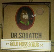 Dr. Squatch GOLD MOSS SCRUB Soap Bar Handmade Natural Men's Cool Gift Sexy Stud!
