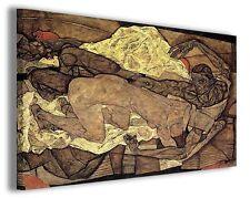Quadro moderno Egon Schiele vol XVII stampa su tela canvas pittori famosi
