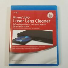 Ge 10618 Blu-Ray & Dvd Laser Lens Cleaner Also Cd/Dvd Players Xbox Playstation