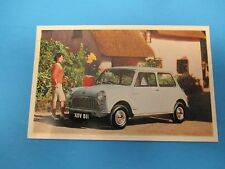 The Austin Mini Printed in England Vintage Factory Postcard PC33