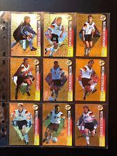 WorldCup USA 94 Championcards - PANINI 18x Deutsche Spieler Gold Karten! Kult!