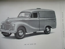 Service Manual Austin A.40 Models Vintage Antique Automobile Owner 1953