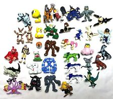 Vtg 90s Digimon Monster Ranchers Bandai PVC Mini lot of 36 Assorted figures Toys