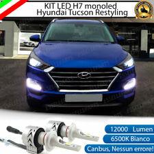 KIT LED H7 HYUNDAI TUCSON RESTYLING 6500K CANBUS XENON 12000LM LUMEN MONO LED