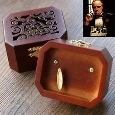 Collectible Octagon Carving Music Box ♫ The Godfather Theme ♫