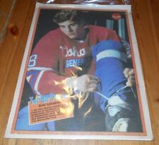 Toronto Sun Newspaper April 1990 ERIC LINDROS Cover - Oshawa Generals OHL Hockey