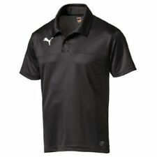 PUMA Mens Sports Football Esquadra Leisure Polo Shirt Top Black XL