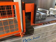 Bauaufzug gebraucht 200 kg 15,00m Böcker Steinweg