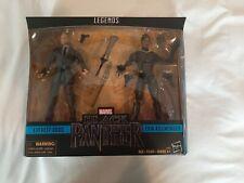 Marvel Legends Black Panther Agent Everett Ross & Erik Killmonger 2 pack