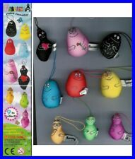 RARO SET 9 Mini Peluche Figure BARBAPAPA MINI MOSHY Originali Cool Things Italia