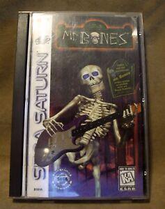 Mr. Bones for Sega Saturn - Case, Manual and Disc 2 ONLY (no disc 1)