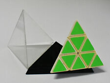 Vintage 1981 Tomy Pyraminx Triangle Pyramid Game With Case Rubik's Cube