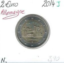 2 Euros - ALLEMAGNE - 2014 - Lettre: J // Qualité: Neuve