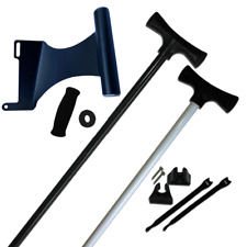 NEW - 8' Stick It Anchor Pin with the Motor Mount Bracket - Black/StarboardSide