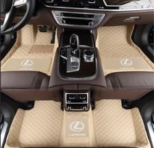 Fit For Lexus 2006-2021 all models luxury custom waterproof car floor mats