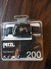 Petzl TACTIKKA Black HYBRID CONCEPT Headlamp 200 Lumens New!!