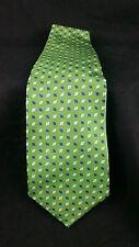 Lauren Ralph Lauren Tie Silk Handmade USA Green Geometric NWOT New L55