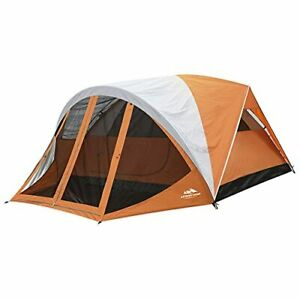 AsterOutdoor Camping Dome Tent 6 Person with Screen Room & Removable Rain Fly...