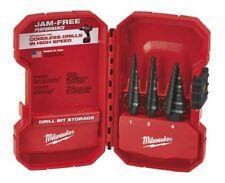Milwauee 48-89-9221 3 PC Step Drill Bit Set