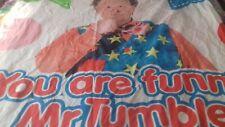 mr tumble duvet pillow case bedding and free dvd bundle