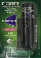 4x Nicorette Quickmist Cool Berry 150 1mg Mouth Spray
