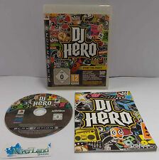 Console Game Gioco SONY Playstation 3 PS3 PAL ITALIANO ITA IT Play - DJ HERO - -