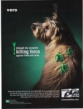 DOG 2010 TERRIER magazine ad print art clipping advert Frontline killing force