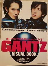 "Ninomiya Kazunari ""GANTZ"" Movie Visual Book RARE!!"