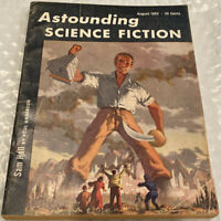 Astounding Science Fiction - August 1953 - Poul Anderson, Chan Davis, Lee Correy