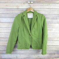 CARTONNIER Anthropologie Blazer Style Jacket SIZE 0 Green