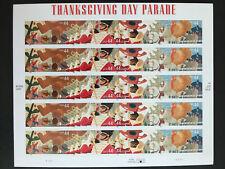 2009 sheet Thanksgiving Day Parade Sc# 4417-4420